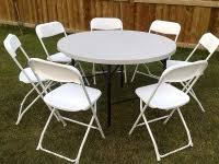 Plastic Tables And Chairs Hemet Party Rental Tables And Chairs