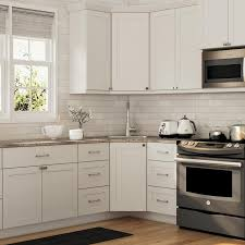 white shaker corner kitchen cabinet hton bay cambridge shaker ready to assemble 36x34 5x24 5