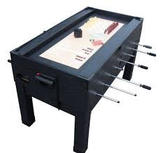 medal sports game table 13 in 1 combination game table in black the danbury foosball