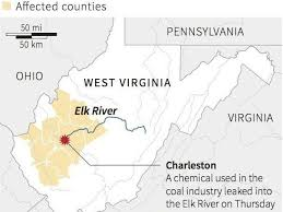 west virginia chemical spill leaves thousands water