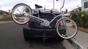 nissan leaf bike rack show us your rack page 2 priuschat