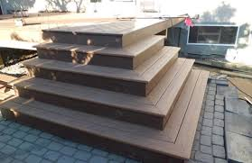 Corner Deck Stairs Design Alluring Deck Corner Stairs Design Building Deck Stairs Around A