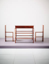 Donald Judd Chair Donald Judd 1928 1994 Desk And Two Chairs Models F 82 2 F