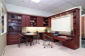 Home Office Built In Furniture Custom Home Office Cabinets And Built In Desks Regarding Furniture
