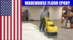 Industrial Concrete Floor Coatings Warehouse Epoxy Floor Coating Texas Youtube