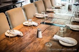 Rustic Restaurant Interior Design Table Have Camera Will Travel - Design a table setting