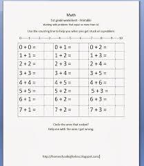 1st grade math worksheet kelpies