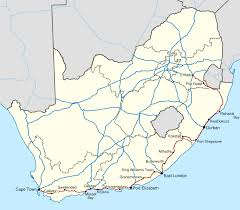 Map Quiz Africa by N2 Road South Africa Wikipedia