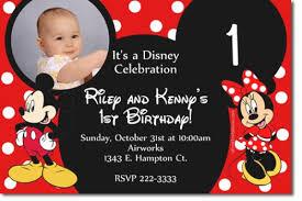 mickey mouse birthday invitations birthday invitations templates