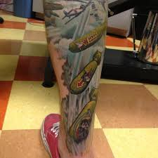 calf leg for amazing calf tattoos for