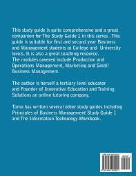 principles of business management study guide unit 2 revision