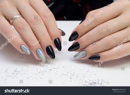 natural nails amazing clean manicure gel stock photo 624294269