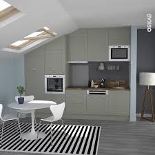 evier cuisine gris cuisine équipée grise bois moderne filipen gris mat