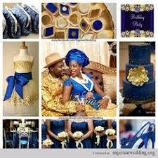 colour themes for nigerian wedding nigerian wedding cyan navy blue and orange wedding color scheme