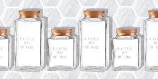 10 chic glass canisters for your kitchen best glass jars to buy