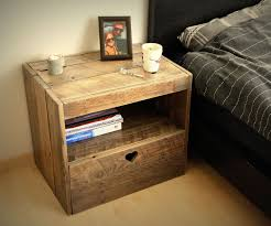 Nightstand Size by Pallet Nightstand 13 Steps With Pictures