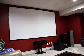home theater projection screen custom built screens for your home theatre projector