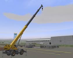 port u0026 construction crane simulator models globalsim