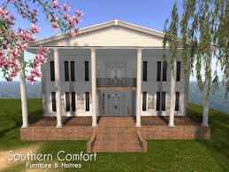 second life marketplace white plantation house southern