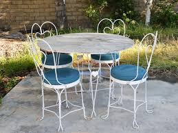 Patio Furniture Wrought Iron by Patio 52 Metal Patio Chairs Mid Century Wrought Iron Patio