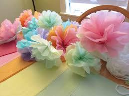 shore society diy tissue paper flowers