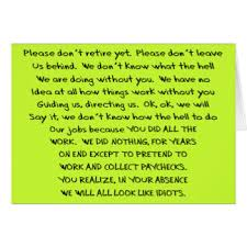words for retirement cards hilarious retirement cards photocards invitations more