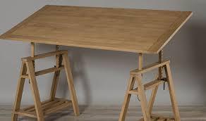 bureau architecte bureau d architecte en bois massif sur tréteaux