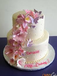 50th anniversary gold bow cake cmny cakes