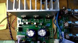 7 1 home theater circuit diagram brand new tda2030 amplifier issue youtube