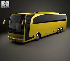 mercedes benz travego m bus 2009 3d model mercedes benz model