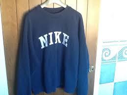nike pullover sweater vintage retro sweatshirt sweater medium