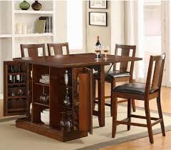 Drop Leaf Table With Storage Simple Kitchen Design With High Top Drop Leaf Tables Wine Racks