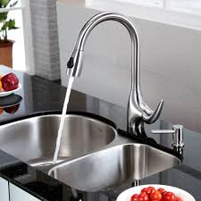 kitchen sink and faucet combo stainless steel kitchen sink combination kraususa com