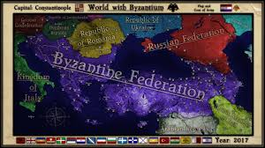 Byzantine Empire Flag Byzantine Federation Alternate World By Breakingerr On Deviantart