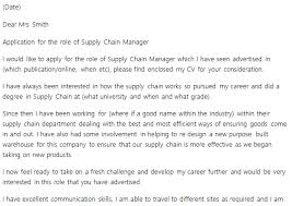 Supply Chain Manager Resume Example by Transportation Analyst Cover Letter