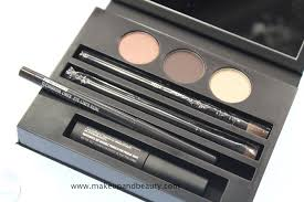 mac cinematics makeup lesson kit smoky brown