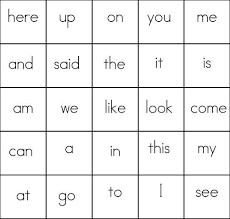 best 25 sight word bingo ideas on pinterest kindergarten sight