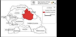 Dakar Senegal Map Quantification Of Ecosystem Services Provided By U003ci U003epterocarpus