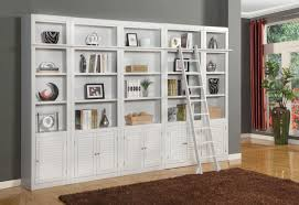 Library Bookcases With Ladder Wall Units Amusing Wall Unit Bookcase Wall Bookcase Ikea Wall