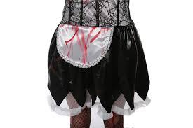 halloween costume witch vampire cosplay women tube mini dress