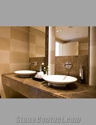 Bathroom Vanity Unit Bathroom Vanity Units In Marble Emperador Light Brown Marble Bath