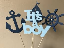 Nautical Baby Shower Centerpieces by Nautical Centerpiece Nautical Baby Shower Centerpiece
