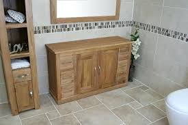 Oak Bathroom Cabinet Bathroom Oak Cabinets Northlight Co