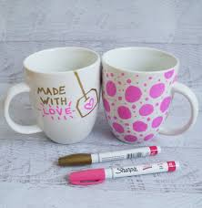 Design Mug Sharpie Mug Diy Project Popsugar Smart Living