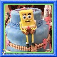 coolest homemade spongebob squarepants cakes