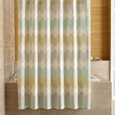 Shower Curtain Ideas Pictures Sheesha Leaf Shower Curtain Crate And Barrel