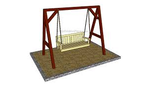 outdoor swing plans myoutdoorplans free woodworking plans and