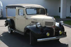 1946 dodge panel truck hemmings find of the day 1947 dodge wc canopy truc canopy
