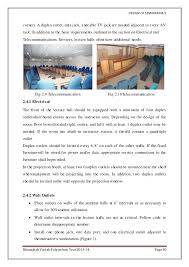 design of seminar hall project document