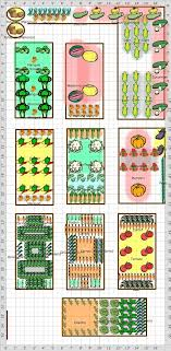Companion Garden Layout Companion Planting Vegetable Garden Layout Farm Garden